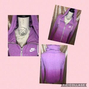 Nike Women's Gym Vintage Dip Dye Hoodie